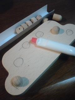 トレーニングボード製作