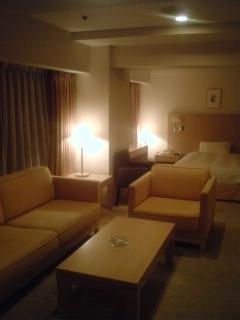 ホテルのスイートルーム