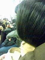 眠れる長髪の美女
