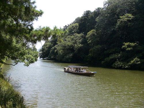 松江城の堀