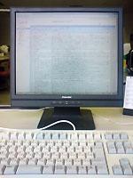 会社のパソコン