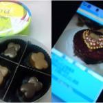 義理チョコと本命チョコを写真で比較
