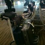 香港国際空港、まもなくミッドナイト