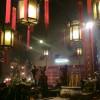 香港島、古い廟で厳粛な気持ちになる