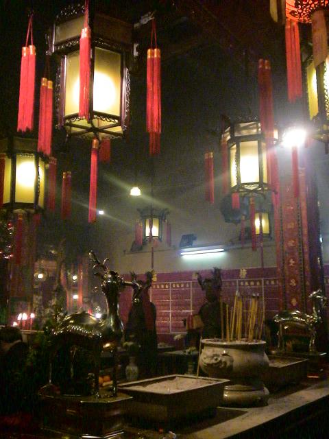 香港、古い廟