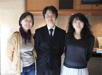 紀尾井ホール、友人と