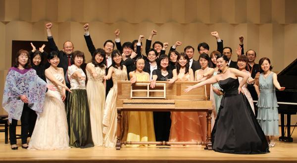 モダンピアノ愛好家によるバロック演奏会の報告