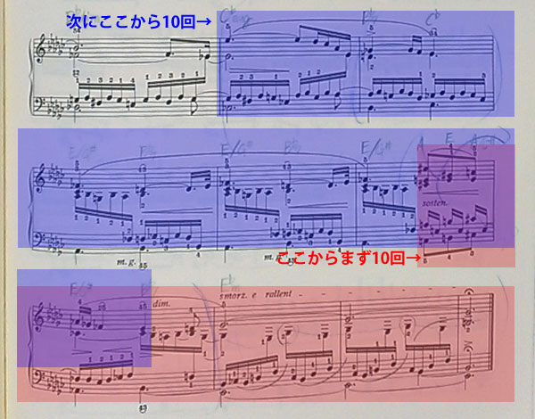 【レッスン】ショパン練習曲10-6、驚きの攻略法