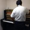 コンクールシーズン前にピアノの調律を