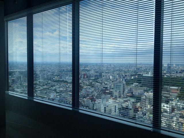渋谷ヒカリエからの眺め