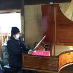 病み上がりの身体でフォルテピアノの練習会へ