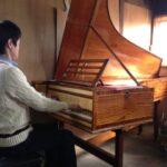 フォルテピアノ練習会3度目、姿勢を大幅に改善