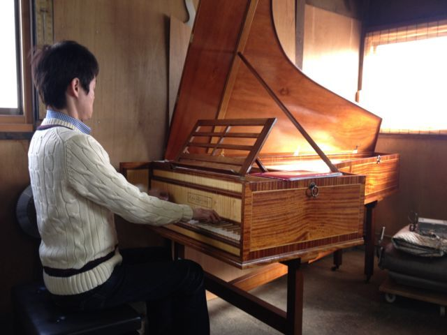 深町工房フォルテピアノ練習