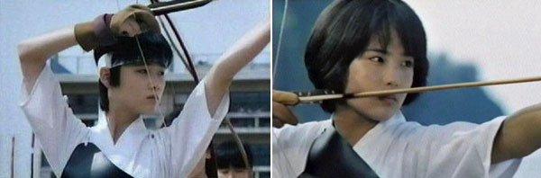 原田知世と富田靖子