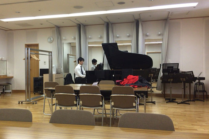 紀尾井ホール・リハーサル