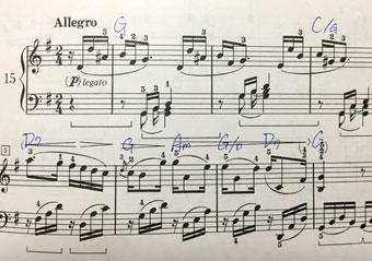 ベートーヴェン「ピアノソナタ ト長調 op.14-2」