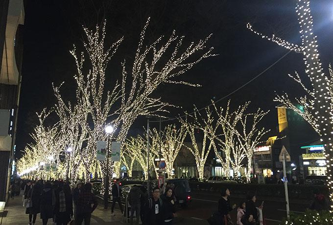 カワイ表参道 夜景