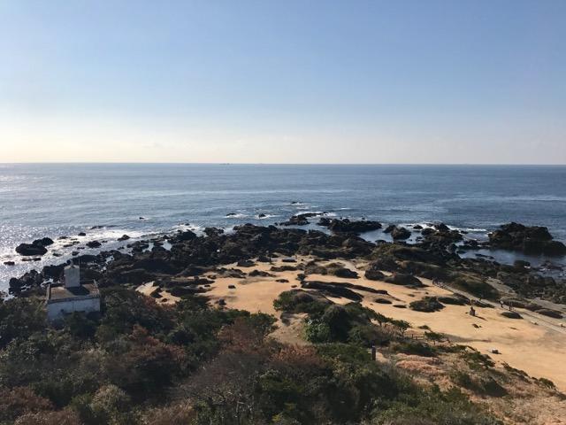 白浜・野島崎灯台からの眺め