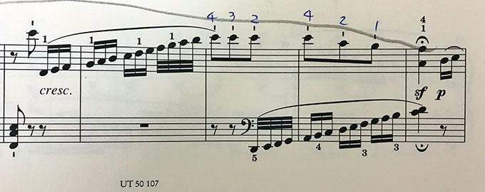 ベートーヴェン:ピアノソナタ 第10番 ト長調 op.14-2 第3楽章 楽譜