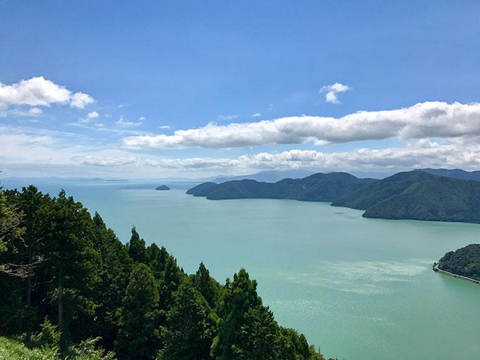 賤ヶ岳から見た琵琶湖