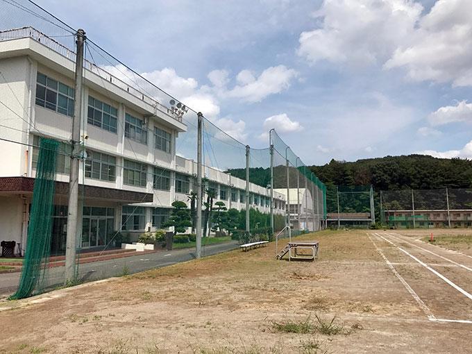 田舎の高校