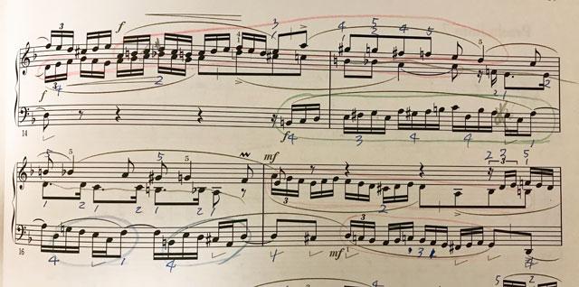 バッハ 平均律クラヴィーア曲集 2巻 ニ短調 フーガ