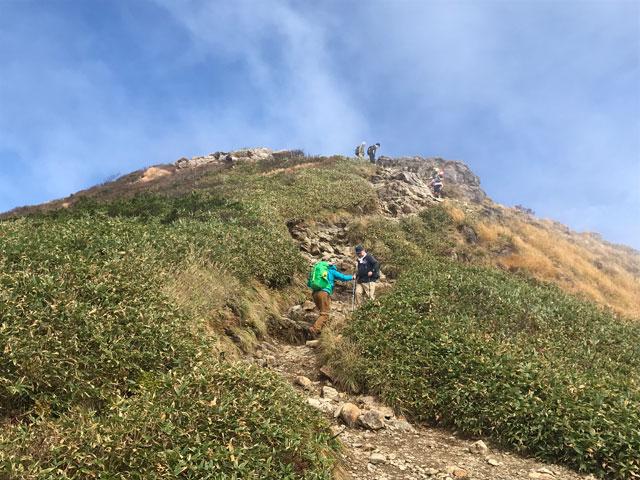 谷川岳登山