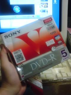 ソニーのDVD-R
