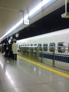 品川駅新幹線ホーム