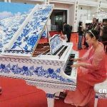 青花のピアノ