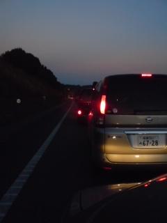 東名高速の渋滞