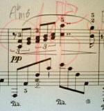 ラフマニノフ「エレジー」楽譜
