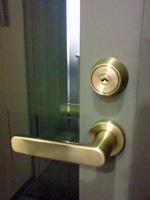 会社のドア