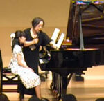 金子勝子先生の指導風景