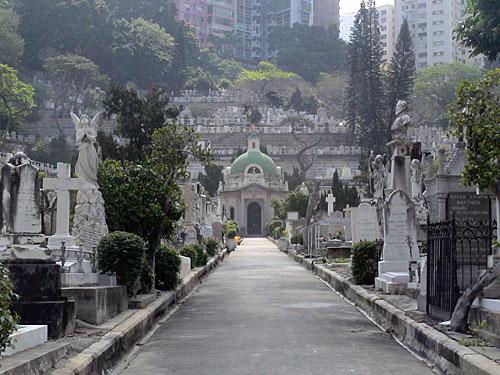 香港のキリスト教墓地