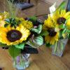 会社の送別会の花