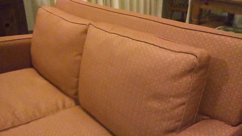 ソファの張り替え
