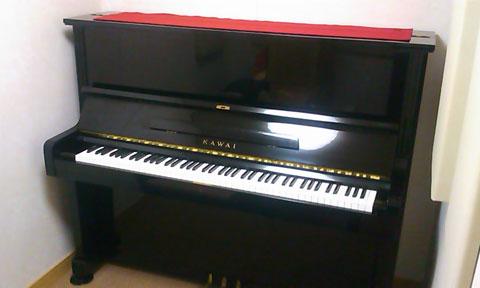 アップライトピアノの搬入