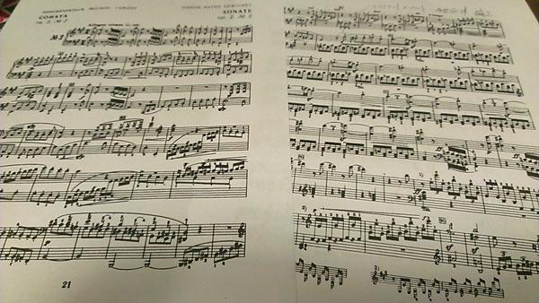 ベートーヴェン ピアノソナタ 作品2-2