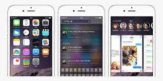 iOS8のインターフェース
