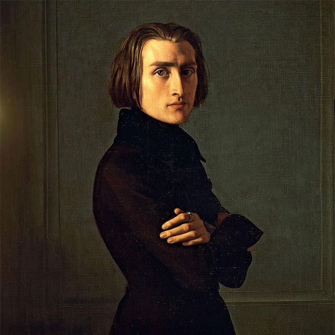 フランツ・リスト肖像画