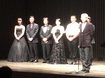 国際アマチュアピアノコンクール2015 受賞者演奏会