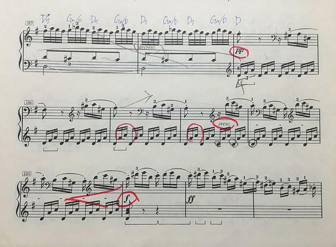 ベートーヴェン ピアノソナタ op.14-2 楽譜