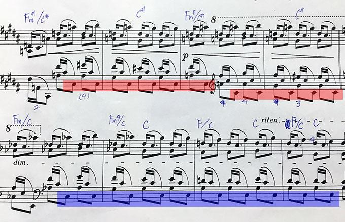 ショパン練習曲 Op.25-3 楽譜