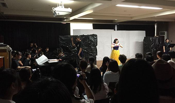 高校文化祭・ミュージカル