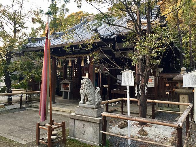 新熊野神社の本殿