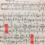 ショパン「マズルカ op.24-4」楽譜