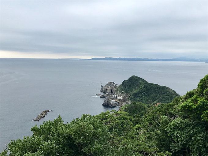 神島から眺めた太平洋