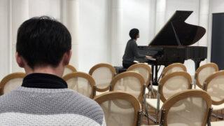 発表会リハーサル・日仏文化協会
