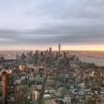 マンハッタンの夕景(ニューヨーク)